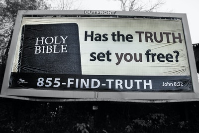 07 18 Truth Set Free Billboard