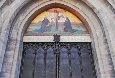 Church Door at Wittenberg