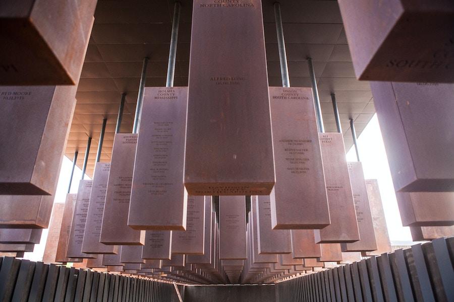 Alabama peace justice memorial