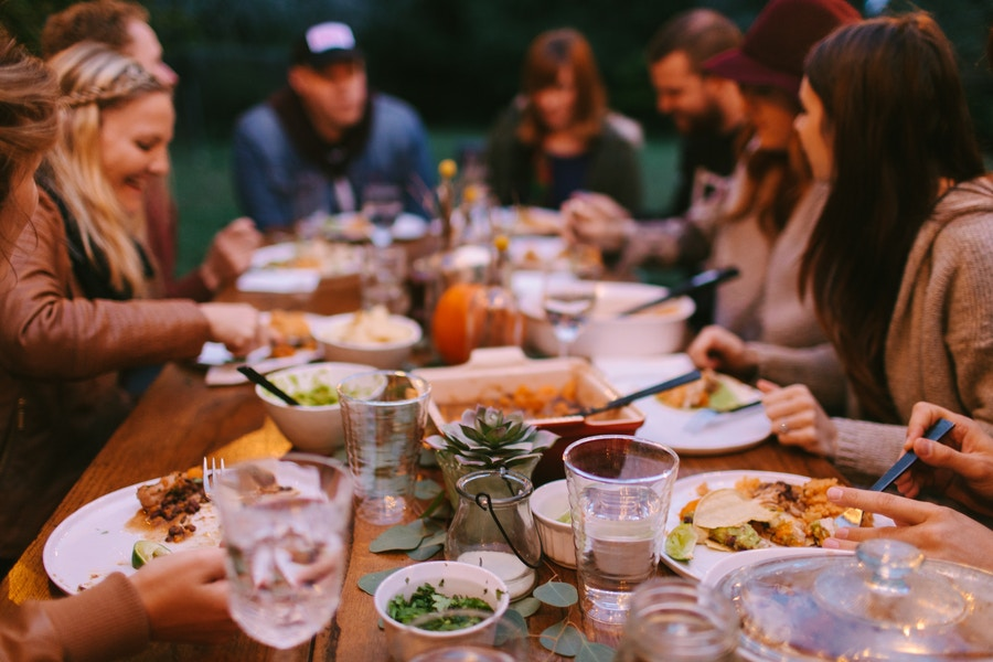 Celebrate Feast Outside
