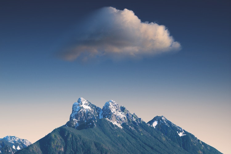 Cloud Over Mountains