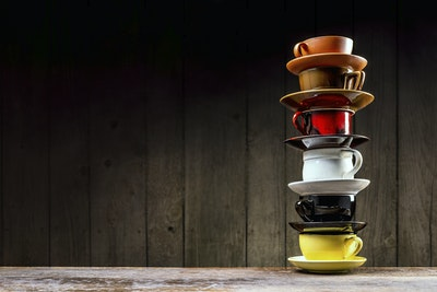 Coffee Cup Stack