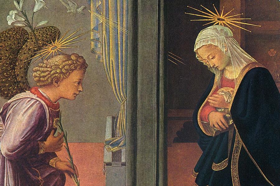 Featured Advent 2 Filippo Lippi Annunciation