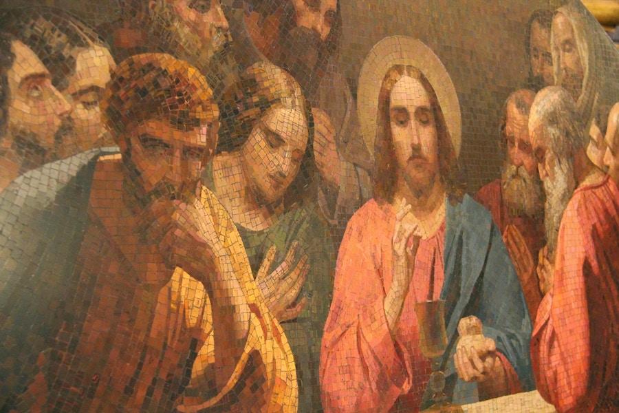 Jesus Disciples Fresco