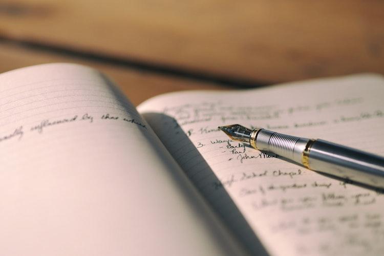 Journal Fountain Pen