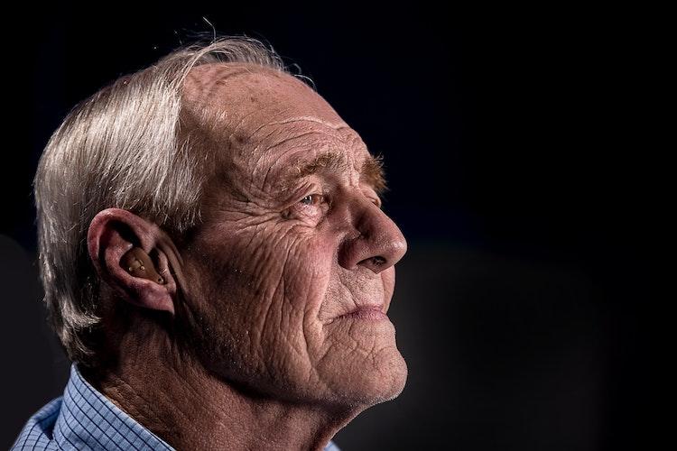 Older Man Listening