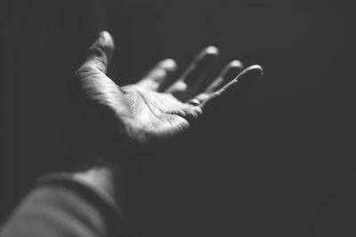 Open Hand Reaching