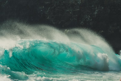 Waves in indonesia