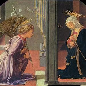 Fra Filippo Lippi. _The Annunciation._ c. 1435/1440.